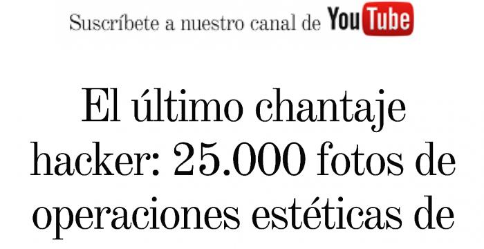 clínica de cirugía estética en Madrid Vanity Fair Turismo Estético - Clínica Cirugía Estética Madrid