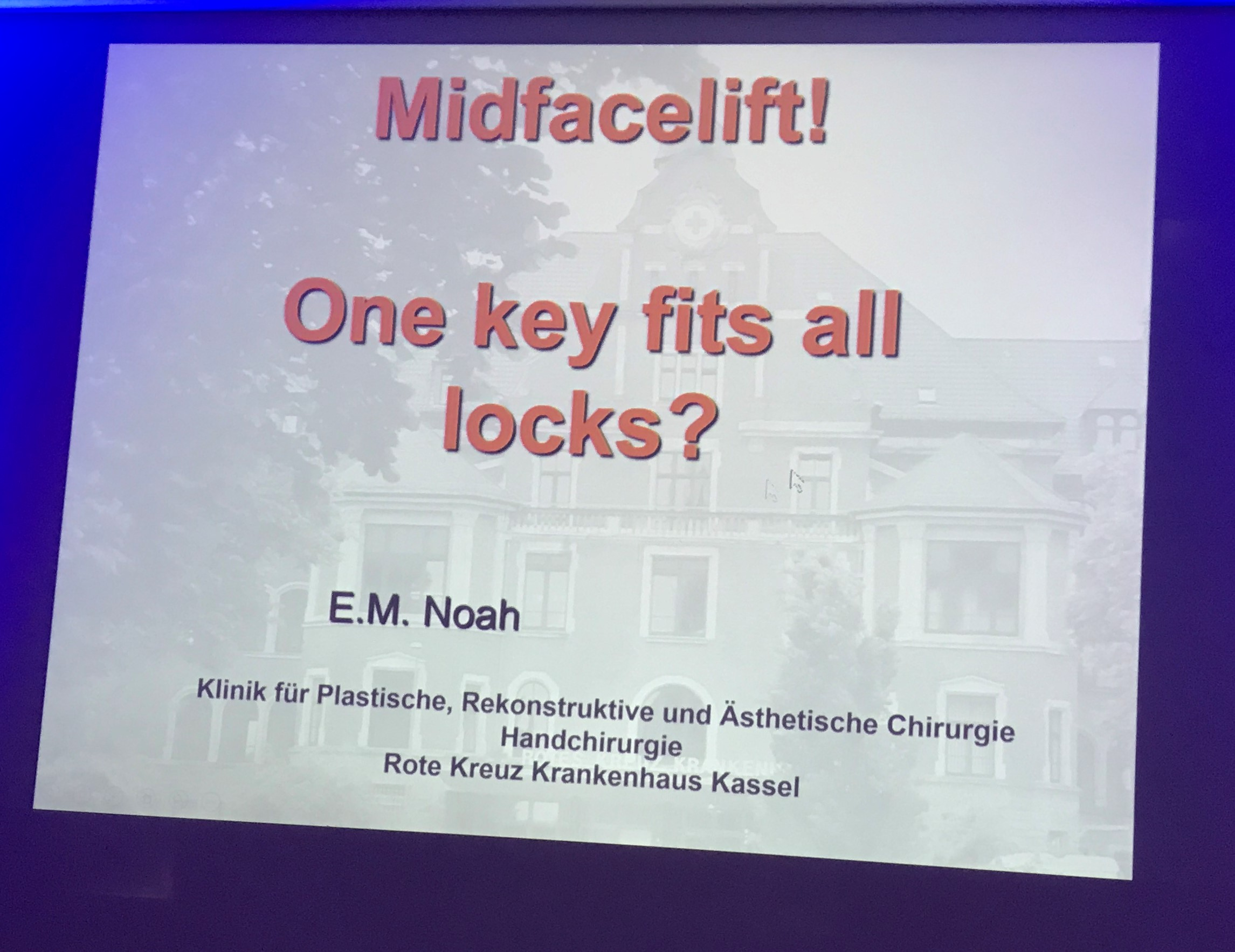 Presentación MIPSS 2017 - Clínica Cirugía Estética Madrid