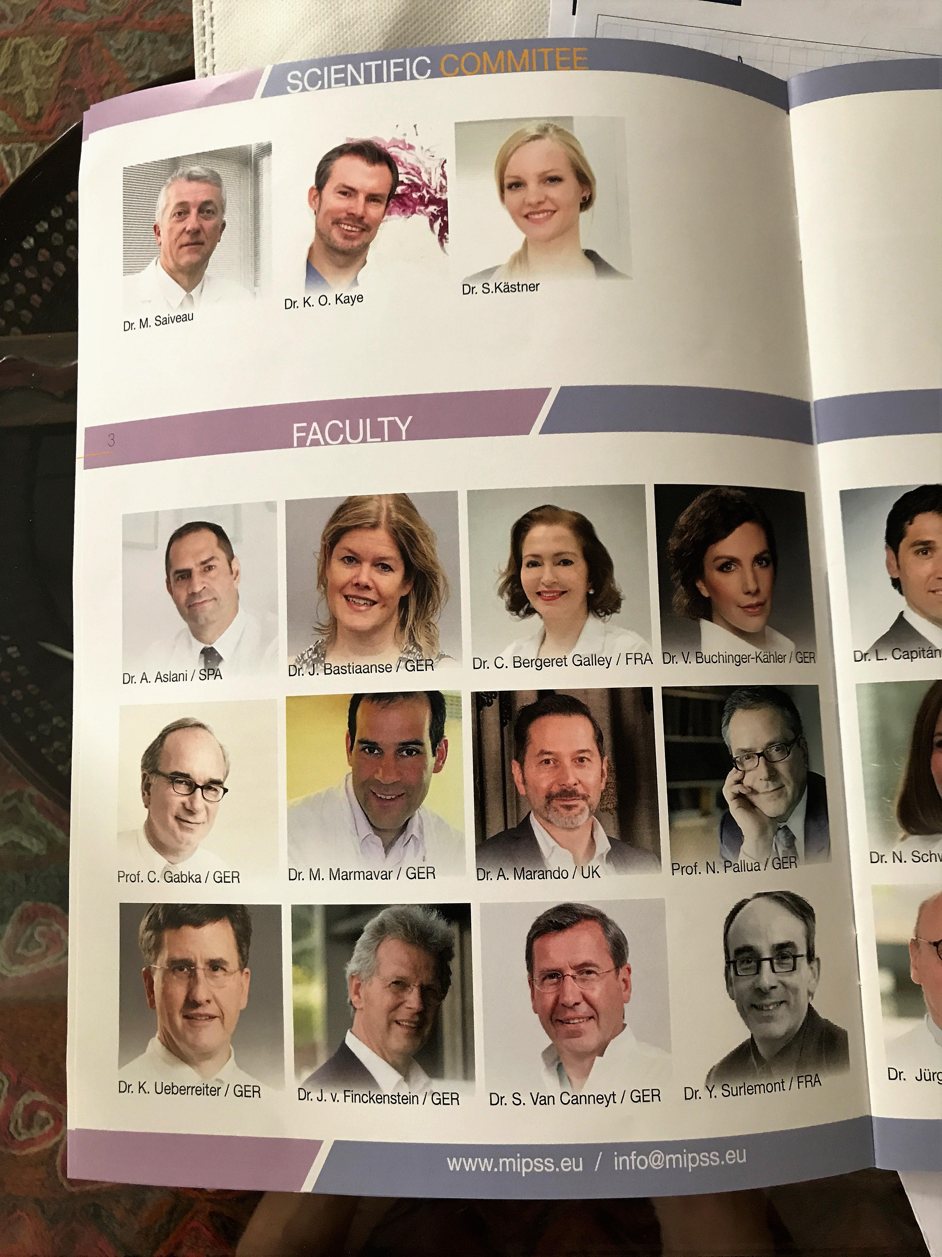 Científicos MIPSS - Clínica Cirugía Estética Madrid